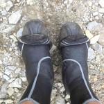11.08., 15.49 Uhr, Heikes Regen-Schuhe