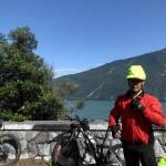 15.08., 16.17 Uhr, hinter Wolfgang der Gardasee